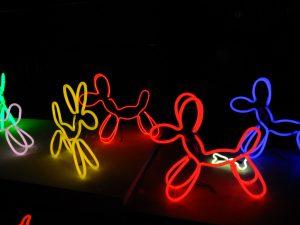 festa de aniversario neon